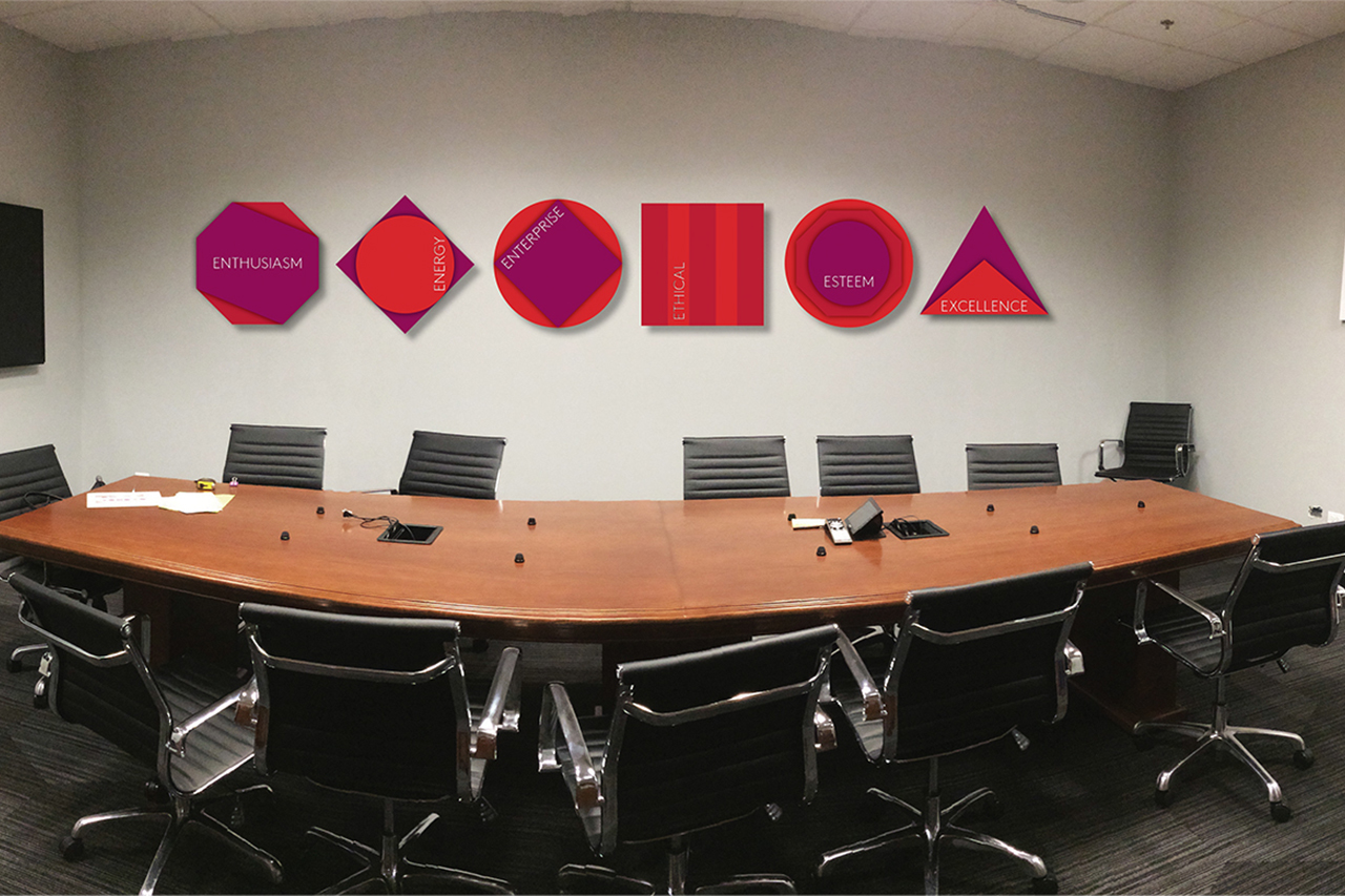 Essentra Boardroom Graphics