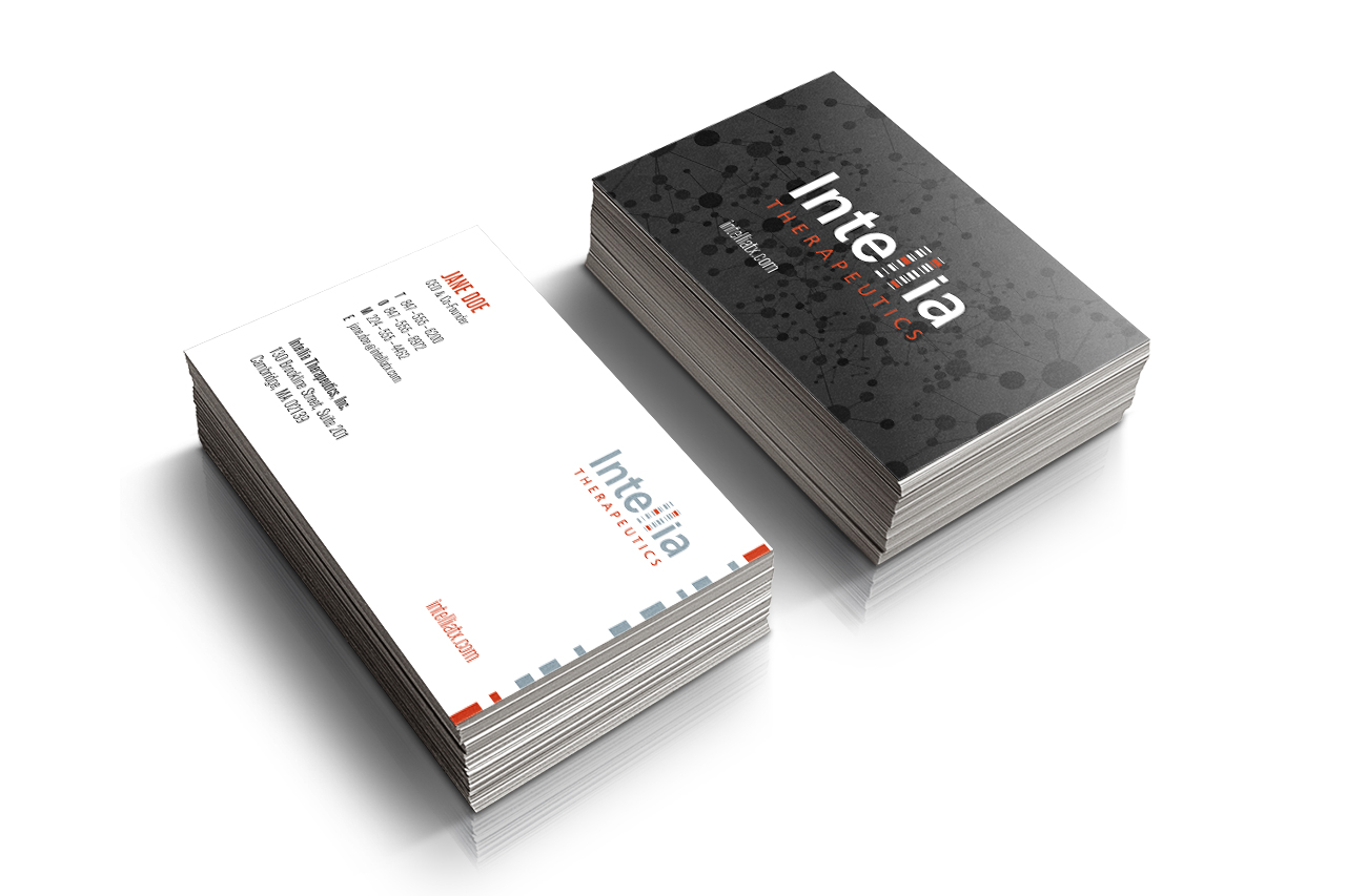 Intellia Business Cards