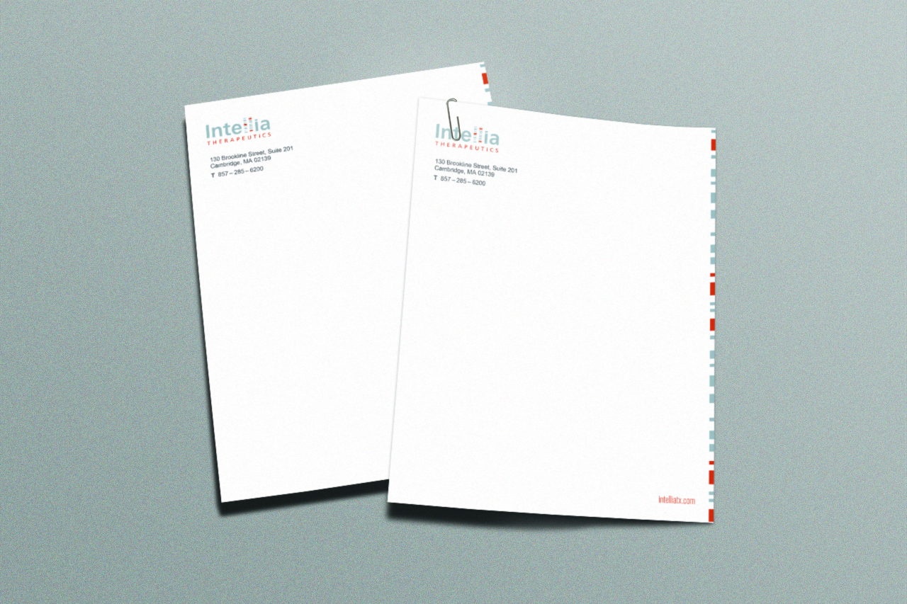 Intellia Letterheadt